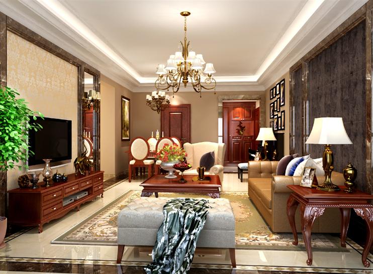 欧式 收纳 三居 小资 客厅图片来自博洛尼整体家装Q在华润橡树湾-欧式古典-时尚而奢华的分享