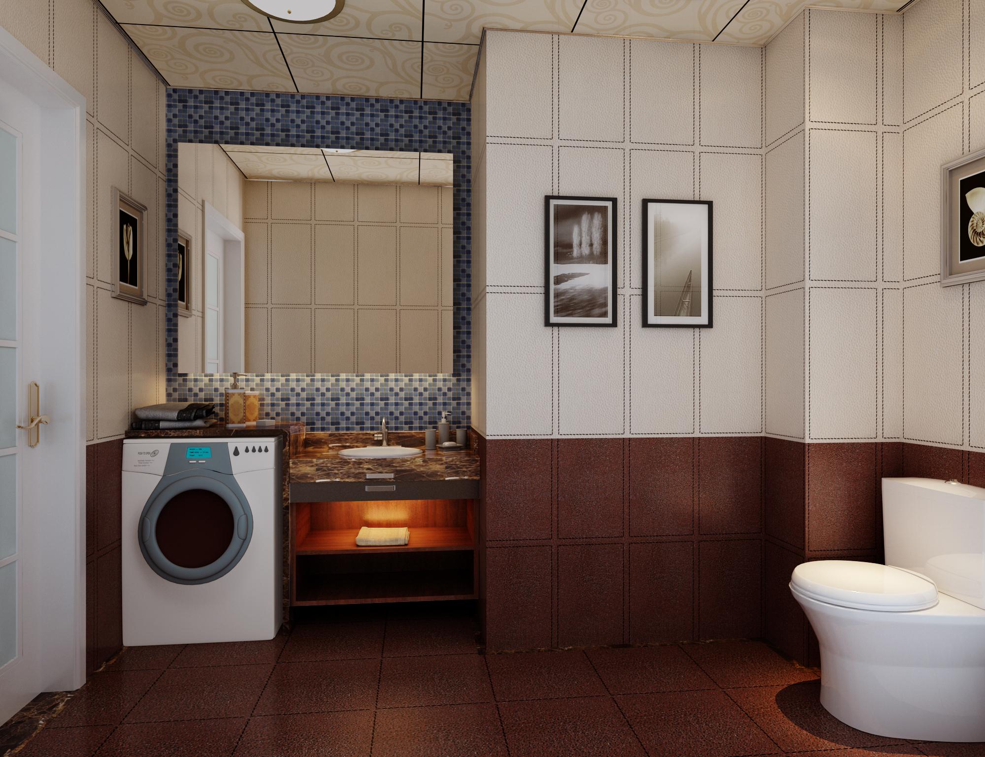 卫生间图片来自石俊全在金隅悦和园效果图的分享