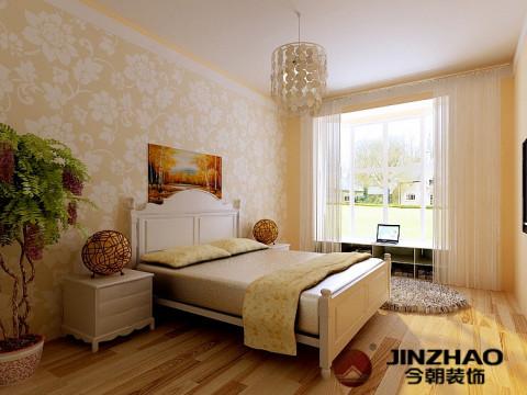 卧室图片来自石家庄装饰家美1在时尚精装两居室-现代风格的分享