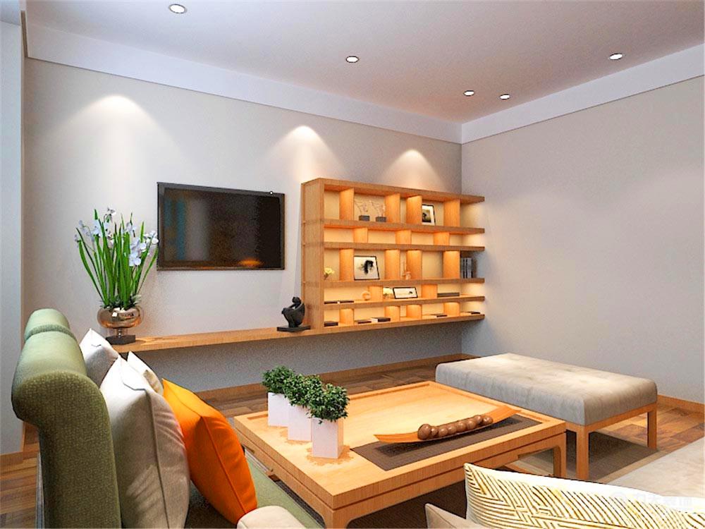 客厅图片来自阳光放扉er在弘泽鉴筑-126.87㎡-现代风格的分享