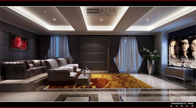 其他图片来自建极峰上大宅装饰杭州公司在柯桥嘉华馥园欧式风格的分享