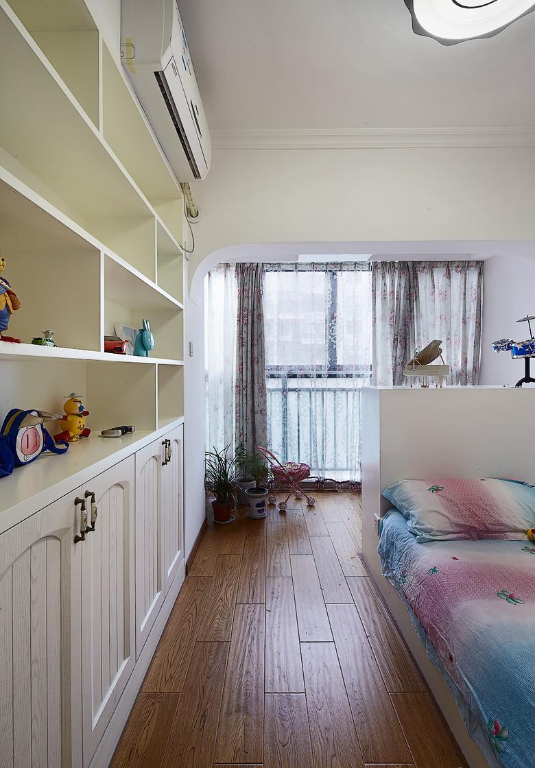 田园 二居 小资 儿童房图片来自家装大管家在温馨浪漫情怀 91平田园风情两居的分享