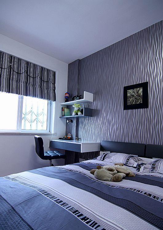 简约 二居 白领 80后 慕尚族 装修设计 卧室图片来自慕尚族在89平  现代简约风格的分享