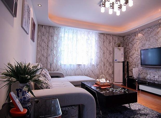 简约 二居 白领 80后 慕尚族 装修设计 客厅图片来自慕尚族在89平  现代简约风格的分享