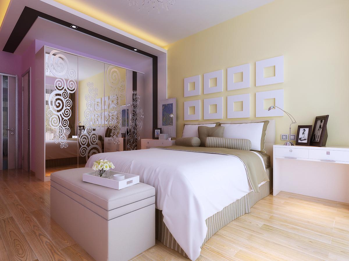 三居 旧房改造 简约 白领 卧室图片来自今朝装饰老房专线在156平,老房翻新,四季上东的分享