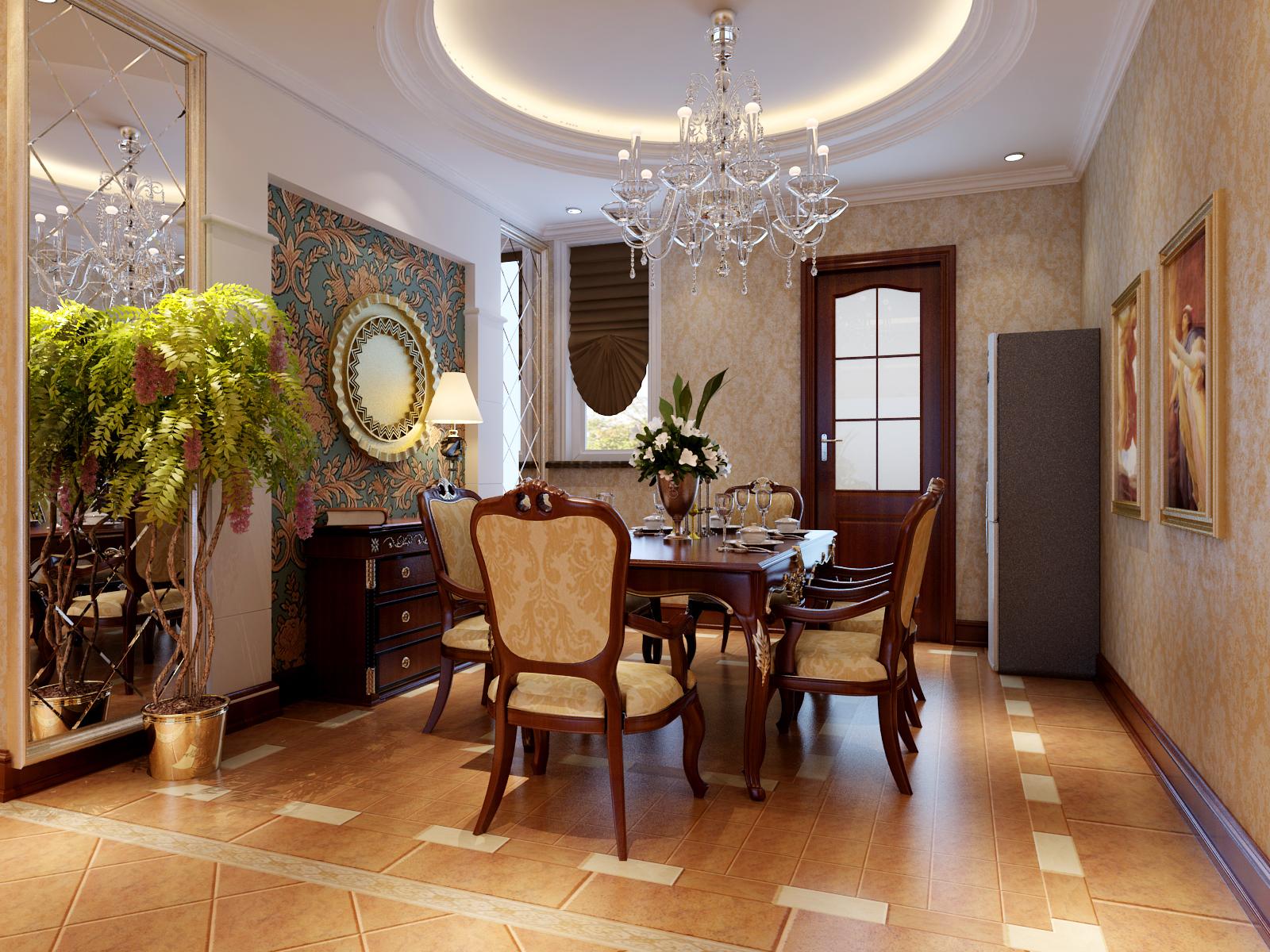 欧式 简约 二居 收纳 旧房改造 餐厅图片来自今朝装饰老房专线在老房翻新,两居室,简欧风格的分享