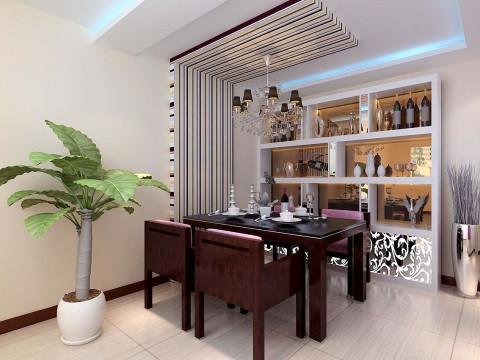 东亚首航 二居 80后 现代 餐厅图片来自今朝装饰老房装修通王在东亚首航的分享