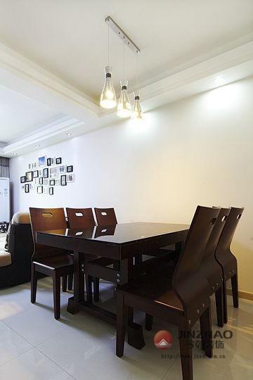 新房装修 旧房改造 局部装修 现代风格 简约风格 混搭风格 餐厅图片来自周海真在中坤小区 旧房改造  现代简约的分享