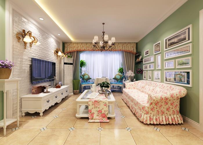 田园 混搭 客厅 卧室 厨房图片来自沈阳林凤装饰装修公司在名流印象的分享