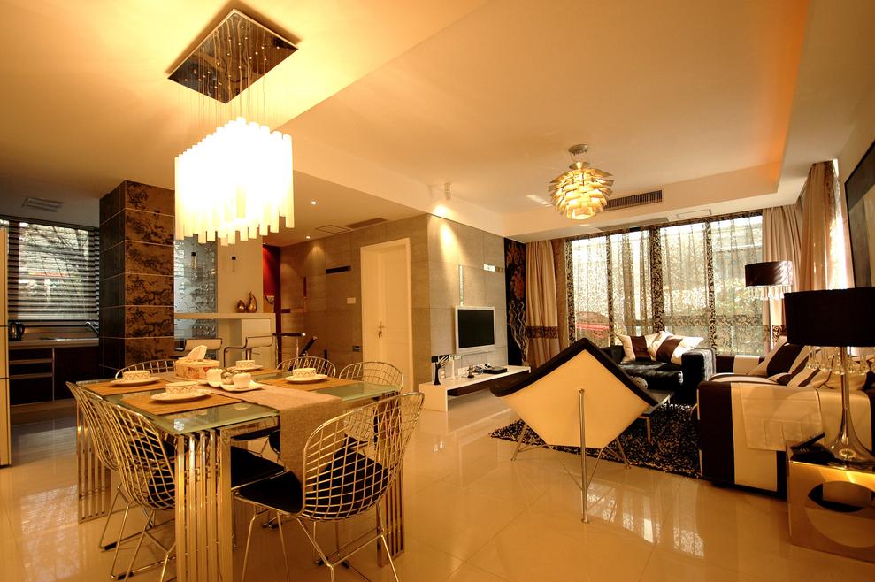 现代简约风 复式装修 老房改造 今朝装饰 客厅图片来自北京今朝装饰在记忆的曲线-现代简约风格的分享