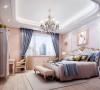 北京别墅装修——欧式风格——卧室