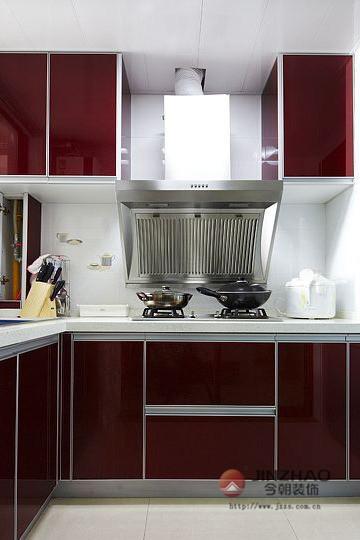 新房装修 旧房改造 局部装修 现代风格 简约风格 混搭风格 厨房图片来自周海真在中坤小区 旧房改造  现代简约的分享