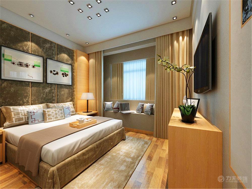 卧室图片来自阳光放扉er在弘泽鉴筑-126.87㎡-现代风格的分享
