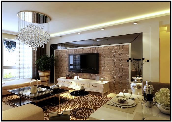 二居 客厅 卧室 厨房图片来自沈阳林凤装饰装修公司在保利心语65#的分享