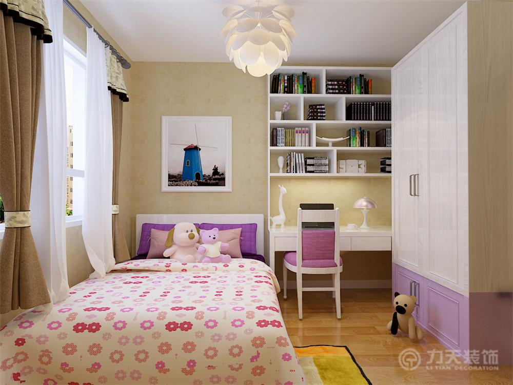 简约 三居 收纳 白领 80后 小资 卧室图片来自阳光力天装饰在路劲太阳城-138㎡-现代简约的分享