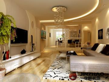 时尚精装两居室-现代风格
