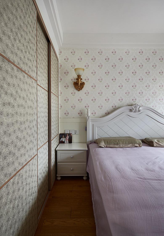 田园 二居 小资 卧室图片来自家装大管家在温馨浪漫情怀 91平田园风情两居的分享