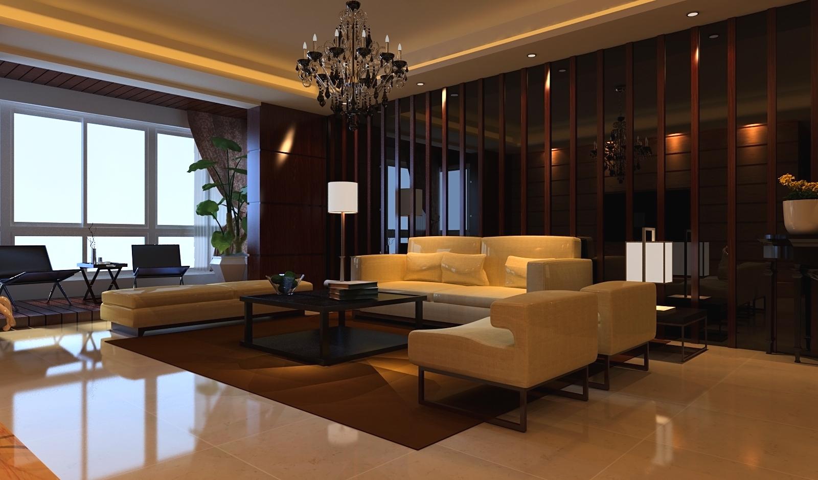 新中式,简 三居 收纳 白领 客厅图片来自富有世纪装饰河南公司在正商明钻的分享