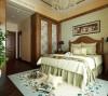 此房间为业主二人的居住空间,所以整体的装饰和色调温馨明朗