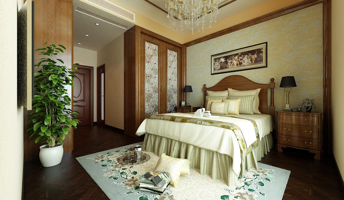 欧式 田园 小资 白领 旧房改造 卧室图片来自元洲装饰小左在建邦花园120平米欧式田园的分享