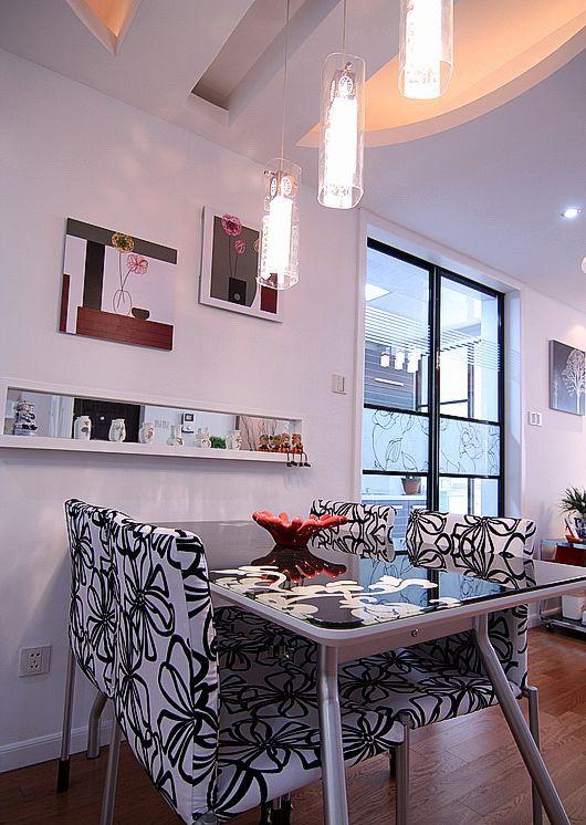 简约 二居 白领 80后 慕尚族 装修设计 餐厅图片来自慕尚族在89平  现代简约风格的分享