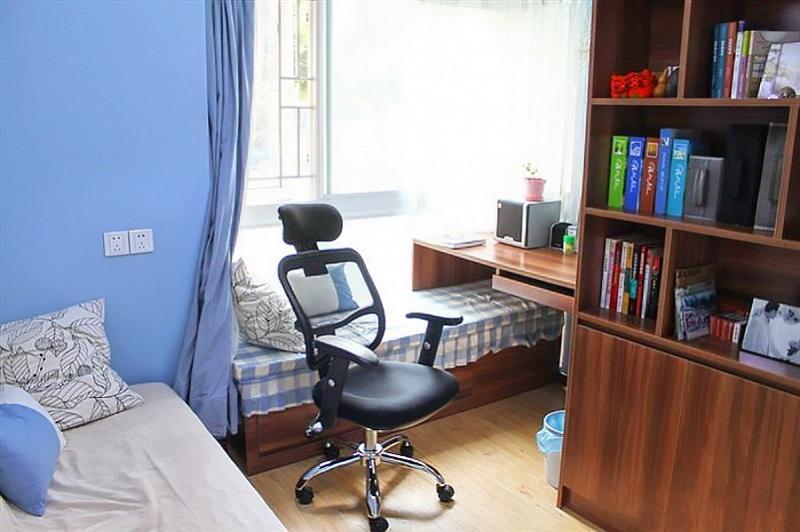 混搭 二居 白领 80后 慕尚族 装修设计 书房图片来自慕尚族在百瑞景 混搭风格  清新格调的分享