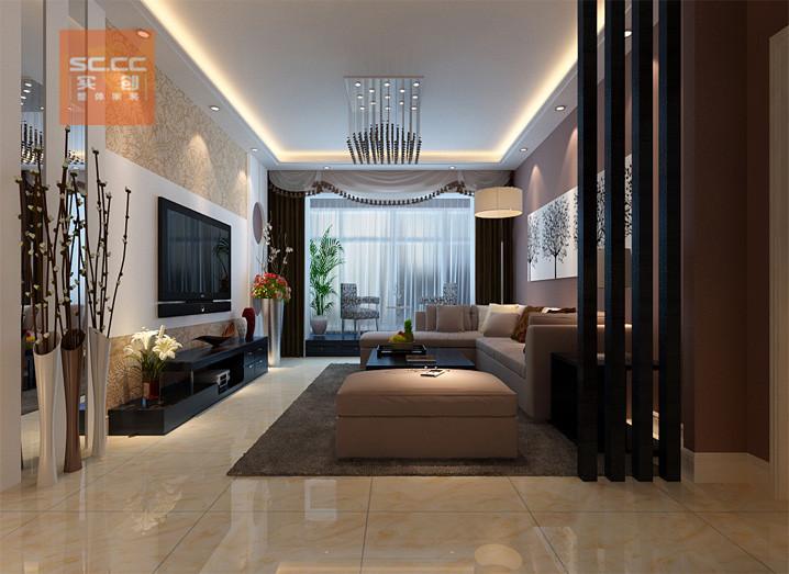 维多利亚 135平装修 三居装修 石家庄装修 套餐公司 客厅图片来自北京实创集团在维多利亚-135平三居装修方案报价的分享