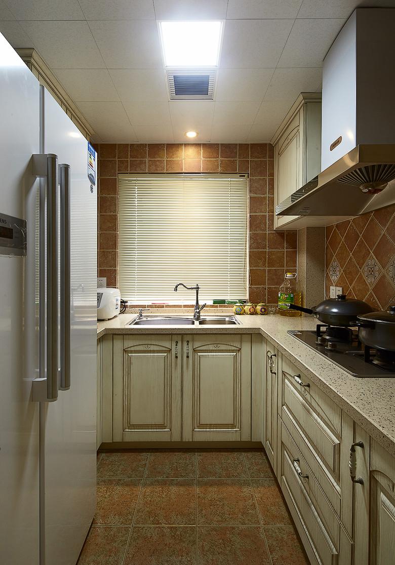 田园 二居 小资 厨房图片来自家装大管家在温馨浪漫情怀 91平田园风情两居的分享