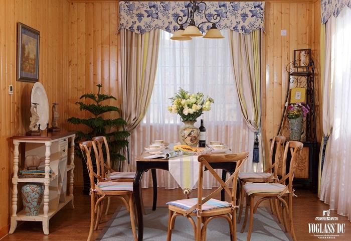 别墅设计 别墅装修 装修设计 尚层装饰 餐厅图片来自尚层别墅装饰总部在世外.梦幻.木屋(实景照)的分享