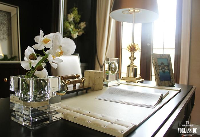别墅装修 别墅设计 装修设计 尚层装饰 现代美式风 别墅 书房图片来自尚层别墅装饰总部在现代式休闲、浪漫实景照的分享