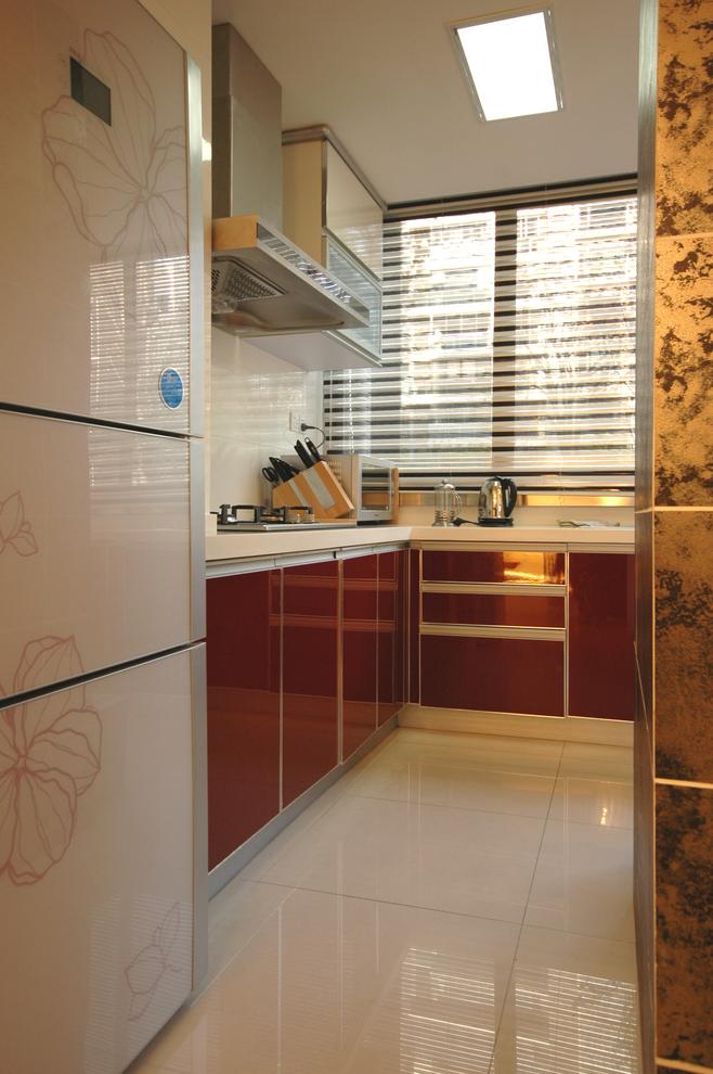 现代简约风 复式装修 老房改造 今朝装饰 厨房图片来自北京今朝装饰在记忆的曲线-现代简约风格的分享