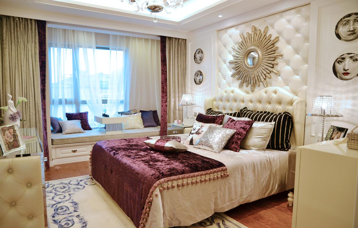 田园 简约 现代 公寓 餐厅 卧室 客厅 卧室图片来自尚层装饰大林在加州华府妙趣横生的分享