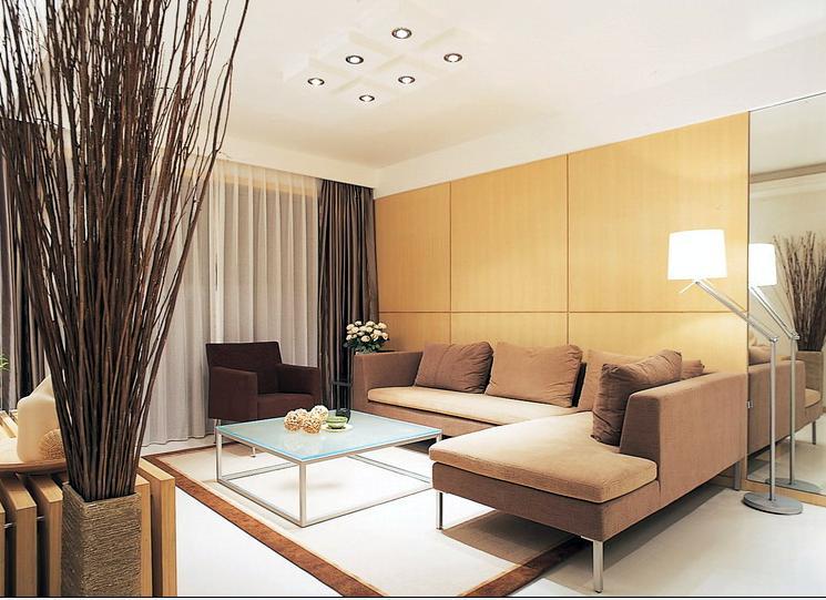 简约 客厅图片来自今朝装饰老房专线在老房翻新,75平,现代简约风的分享