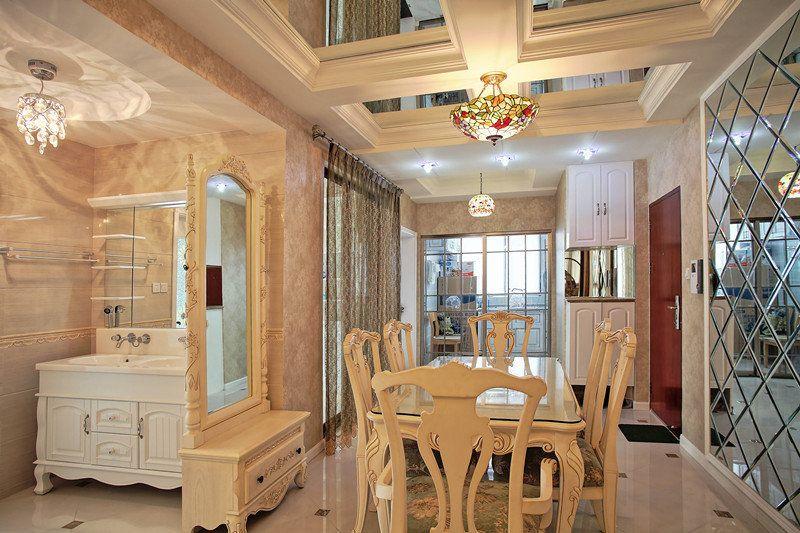 混搭 三居 白领 收纳 旧房改造 80后 小资 餐厅图片来自名仕装饰-小飞在金地金汉1903混搭的分享