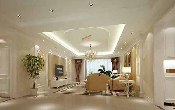 法式 5居 白领 80后 浪漫 奢华 客厅图片来自实创装饰都琳在华侨城的分享
