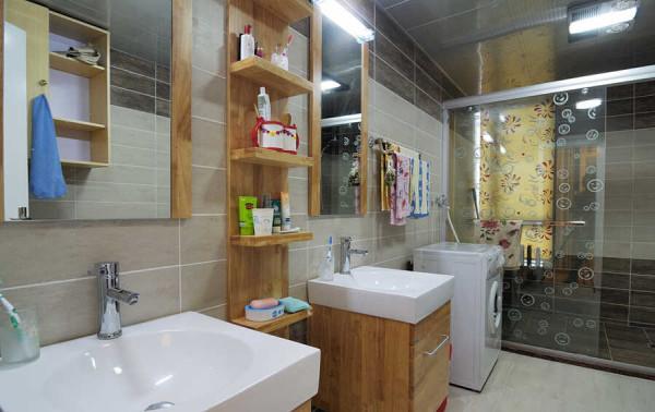 干湿分离的卫浴设计既是对功能的区分也让生活更加便捷。