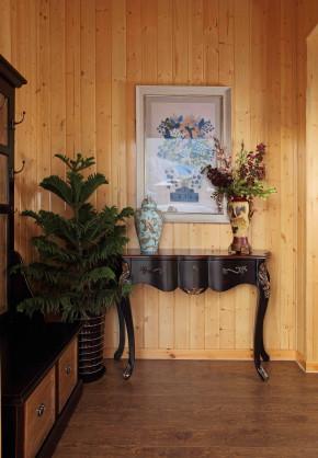 欧式 田园 混搭 别墅 美式 地中海 北欧 楼梯图片来自尚层装饰大林在玉龙湾样板间梦幻木屋的分享