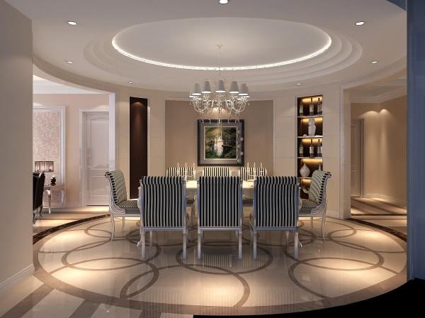 室内以沉稳的暖灰调为主,整体轮廓的线条简洁不失精致的细节处理,用虚实的结合的手法来表现空间的层次变化及奢华气氛。客厅搭配简洁舒适的家具和精致美丽的饰品,让人陶醉在高雅迷人的室内环境中