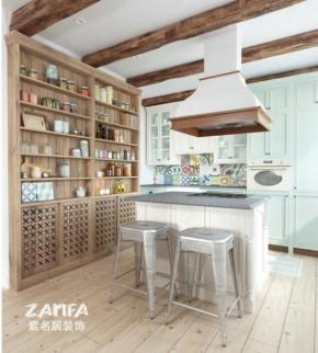 欧式 二居 白领 收纳 80后 小资 白富美 厨房图片来自紫名居装饰在金域华府两居室70平欧式的分享