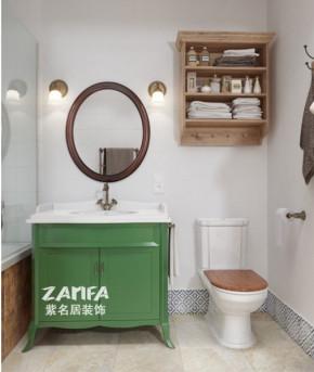 欧式 二居 白领 收纳 80后 小资 白富美 卫生间图片来自紫名居装饰在金域华府两居室70平欧式的分享