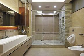 简约 现代 三居 80后 小资 白领 舒适 温馨 卫生间图片来自成都生活家装饰在144平现代简约时尚风格3居室的分享