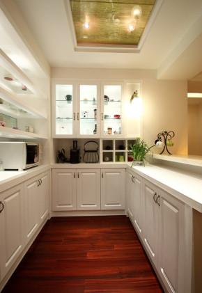简约 美式 温馨 舒适 大气 80后 小资 厨房图片来自成都生活家装饰在83平别致美式2居室的分享