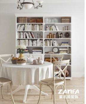 欧式 二居 白领 收纳 80后 小资 白富美 餐厅图片来自紫名居装饰在金域华府两居室70平欧式的分享