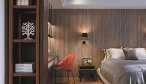 简约 舒适 温馨 港式 大气 卧室图片来自成都生活家装饰在161平大气舒适港式入驻别样之家的分享