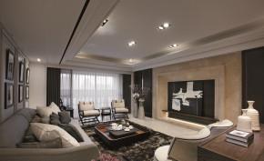 简约 舒适 温馨 港式 大气 客厅图片来自成都生活家装饰在161平大气舒适港式入驻别样之家的分享