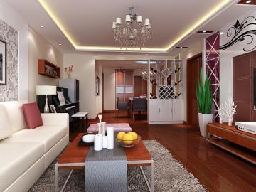 三室两厅现代中式风格装修