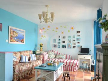 舞动蓝色畅想  清新地中海风格