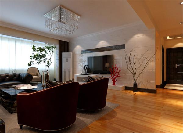 简约  明快   低调   富有现代感是整个客厅的设计中心,实用   生活化  是设计的原则。