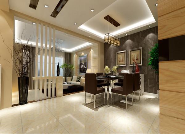 【成都实创装饰】卓锦城—loft 复式 —现代简约风格—整体家装—餐厅装修效果图