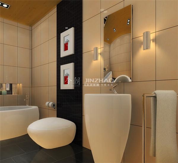 白色的现代家具让整个中式显得时尚前卫,看起来整个效果更佳和谐。